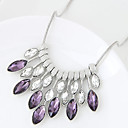 Buy Women's Statement Necklaces Geometric Glass Alloy Euramerican Fashion Jewelry 1pc