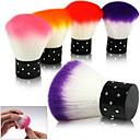 Buy Colorful Nail tools Brush Acrylic & UV Gel Art Dust Cleaner Random Color