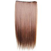 clip en extensiones de cabello sintético rectas con 5 clips - 6 colores disponibles