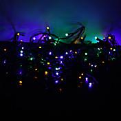 10m 100-luz LED de colores 8-modo llevó la lámpara de hadas cadena para Navidad (220v)