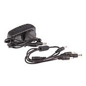카메라 4 AC 100 ~ 240V 직류 12V의 2A 전원 코드 cctv 카메라 전원 어댑터 1