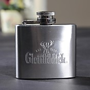 Personalized Gift 2 oz de metal mayúsculas Frasco