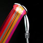 LED 핸드 샤워를 변경 ABS의 수력 색상