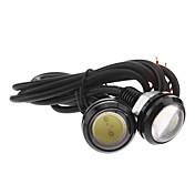 차 콜드 화이트 3W COB 6000 인스루먼트 라이트 라이센스 플레이트 라이트 턴 시그널 라이트 LED 엔젤 아이