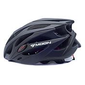 MOON 여성용 남성용 남여 공용 자전거 헬멧 25 통풍구 싸이클링 산악 사이클링 도로 사이클링 사이클링 L : 58-61CM M : 55-58CM PC EPS