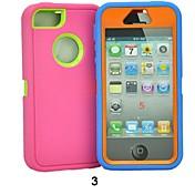 Para Funda iPhone 5 Antigolpes Funda Cubierta Trasera Funda Un Color Suave Policarbonato iPhone SE/5s/5