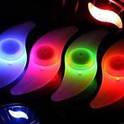 Ciclismo a prueba de agua LED de la bicicleta habló la luz