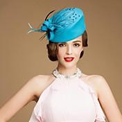 Mujer Niña de flor Lana Celada-Boda Ocasión especial Casual Al Aire Libre Sombreros