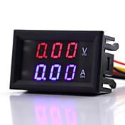 Voltímetro y Amperímetro digital LED