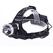 Linternas LED Linternas de Cabeza LED 1800 Lumens 3 Modo - 18650.0 Camping/Senderismo/Cuevas