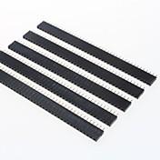GDW az13 40 핀 2.54MM 피치 핀 헤더 - 블랙 (5 개)