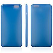 아이폰 6 더하기위한 초박막 PP 소프트 커버 (모듬 색상)