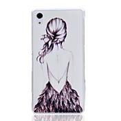 소니 XPERIA Z2 / d6502 / d6503 / l50w 경우 그림 소녀 패턴 하드 보호 커버