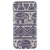 Para Funda iPhone 6 / Funda iPhone 6 Plus Soporte de Coche / con Soporte / Flip / Diseños Funda Cuerpo Entero Funda Elefante DuraCuero