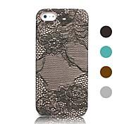 용 아이폰5케이스 패턴 케이스 뒷면 커버 케이스 단색 하드 인조 가죽 iPhone SE/5s/5