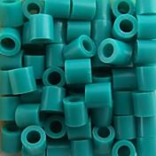 아이 공예에 대한 약은 500PCS / 가방 5mm 호수 블루 퓨즈 비즈 하마 비즈 DIY 퍼즐 EVA 소재의 추구한다