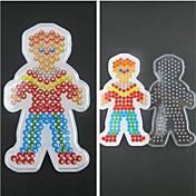 1pcs plantilla patrón hijo clara cuentas fusibles tablero chico por Hama Beads 5mm rompecabezas bricolaje