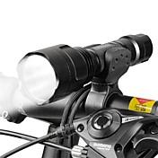 Linternas LED Luz Frontal para Bicicleta LED Ciclismo Enfoque Ajustable 18650.0 Lumens BateríaCamping/Senderismo/Cuevas De Uso Diario