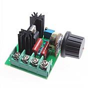 2천w SCR 전압 조정기 모듈 / 조광 / 모터 속도 제어기 / 서모