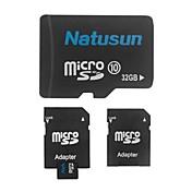 natusun 32 기가 바이트 클래스 10 마이크로 SDHC TF 메모리 카드와 SDHC 어댑터