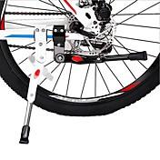 ciclismo 24 '' - 27 '' carretera de aluminio ajustable palo lado de la bicicleta de pie en bicicleta pata de cabra bici bicicleta