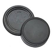 pajiatu® 후면 렌즈 커버 + 니콘 D5100의 D3100의 D7000의 D5000 D90 D80 D3 D2H D2X D200 D300 등 카메라 바디 캡