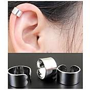 여성용 링 귀걸이 귀는 미니멀 스타일 패션 의상 보석 합금 Circle Shape 보석류 제품 결혼식 파티 일상 캐쥬얼