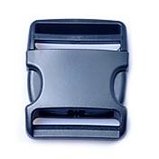 50mm 블랙 (1piece 팩) 버클 수하물 스트랩 벨트 클립 플라스틱 사이드 릴리스