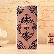 용 아이폰6케이스 / 아이폰6플러스 케이스 패턴 / 엠보싱 텍스쳐 케이스 뒷면 커버 케이스 꽃장식 소프트 PC iPhone 6s Plus/6 Plus / iPhone 6s/6