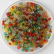 600pcs multicolor perlas de artesanía pony 2mm arte hecho a mano DIY accesorios materiales / prendas de vestir
