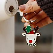 personalizado reno llavero navidad