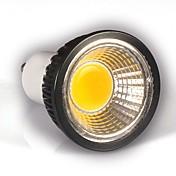 5W GU10 LED 스팟 조명 MR16 1 COB 350-400 lm 따뜻한 화이트 밝기 조절 AC 220-240 V