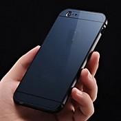 용 아이폰6케이스 / 아이폰6플러스 케이스 패턴 케이스 뒷면 커버 케이스 단색 하드 아크릴 iPhone 6s Plus/6 Plus / iPhone 6s/6