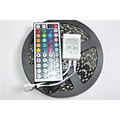 블랙 PCB 보드 방수 RGB 500 만 300x5050 SMD 흰색 빛 LED 스트립 램프 DC12V + 44 키를 z®zdm