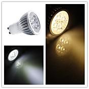 3W GU10 LED 스팟 조명 MR16 3 SMD 2835 200-250 lm 따뜻한 화이트 / 차가운 화이트 밝기 조절 AC 110-130 V
