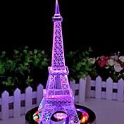 색상 변경 철 타워 주도 야간 조명 램프