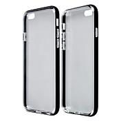 아이폰 6 - 범퍼 프레임/뒷 커버 - 금속/투명 ( 블랙/블루/골드/실버 , TPU/알루미늄 )