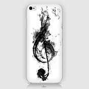 iPhone 7 Plus Musical Notes Pattern Back Case for iPhone5/5S