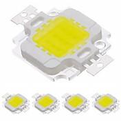LED 칩 - 10 - W - COB - 900 - LM - 3000-3500 6000-6500 - 케이 - 웜 화이트/콜드 화이트 V
