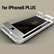 película de titanio de acero de color hoja de cobertura de pantalla completa para iphone 6s más / 6 más