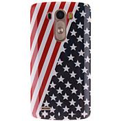 LG 전자 (G3)에 대한 미국 국기 디자인 TPU 소프트 케이스