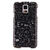 patrón ecuación SPIDER® magia en el molde de la decoración TPU caso con protector de pantalla para Samsung Galaxy i9600 s5