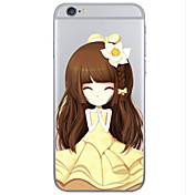 용 아이폰6케이스 / 아이폰6플러스 케이스 투명 / 패턴 케이스 뒷면 커버 케이스 카툰 하드 TPU iPhone 6s Plus/6 Plus / iPhone 6s/6