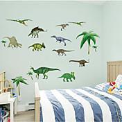 3D 벽 스티커 벽 데칼 스타일 공룡 PVC 벽 스티커