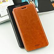 용 삼성 갤럭시 케이스 스탠드 / 플립 케이스 풀 바디 케이스 단색 인조 가죽 Samsung A8 / A7 / A5 / A3