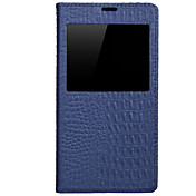 삼성 갤럭시 S5 지능형 휴면와 uwei 소 가죽 지갑 전신 케이스