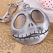 여성 팬던트 목걸이 Skull shape 합금 패션 Chrismas 개인 보석류 용 Halloween