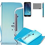 아이폰 6 / 6S에 대한 화면 보호기 및 스타일러스 lexy® 분할 유형 귀여운 하트 패턴 PU 전신 가죽 케이스 플러스
