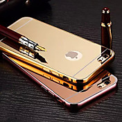 아이폰 6plus / 6S 플러스 금속 프레임 전화 케이스 다시 거울을 도금 (모듬 색상)