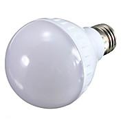 7W E26/E27 LED 글로브 전구 A70 21 SMD 700 lm 따뜻한 화이트 / 차가운 화이트 장식 AC 100-240 V 1개